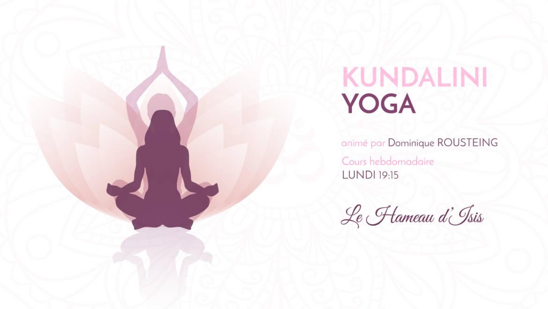 Cours de Kundalini Yoga au Hameau d'Isis
