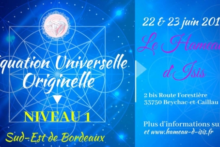 Equation Universelle Originelle – niveau 1 à Beychac-et-Caillau (juin 2019)