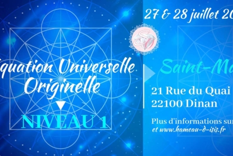 Equation Universelle Originelle – niveau 1 à Dinan (juillet 2019)