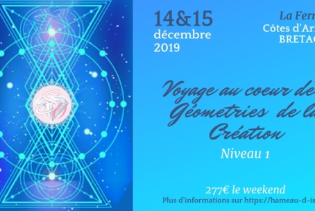 Voyage au cœur des Géométries de la Création – Niveau 1 à La Ferrière (Côtes-d'Armor)