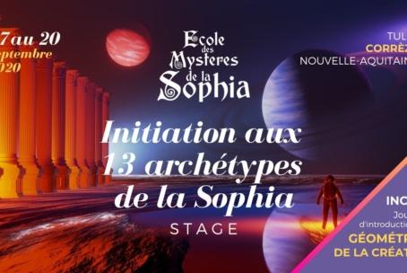 Initiation aux 13 Archétypes de la Sophia WE1 Gpe. Corrézien