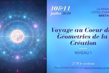 Voyage au Cœur des Géométries de la Création – niveau 1