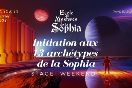 Initiation aux 13 Archétypes de la Sophia WE1 Gpe. Basco-Landais (février 2021)