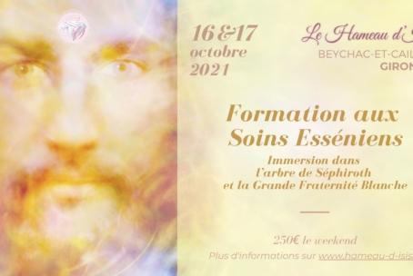 Formation aux Soins Esséniens au Hameau d'Isis les 16 et 17 octobre 2021